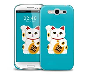 Lucky Cat Samsung Galaxy S3 GS3 protective phone case