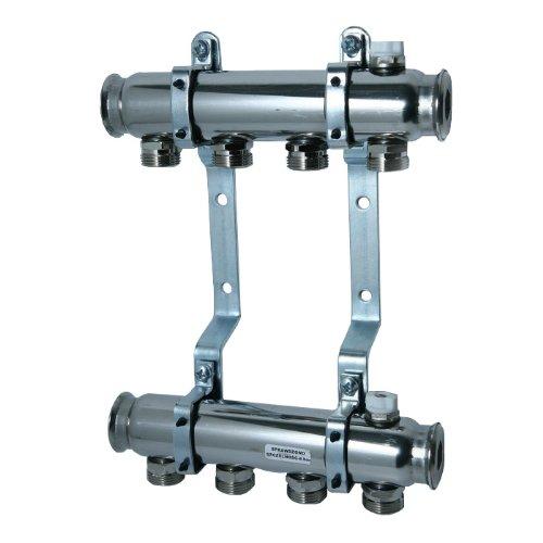 Basic Manifold (Stainless Steel 8 Port Underfloor Heating Manifold - Basic)