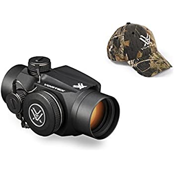 Vortex Optics SPC-402 Sparc II Red Dot Scope with Vortex Optics Hat (Colors May Vary)