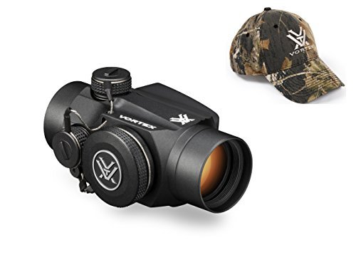 Vortex Optics SPC-402 Sparc II Red Dot Scope with Vortex Optics Hat (Colors May Vary) by Vortex Optics