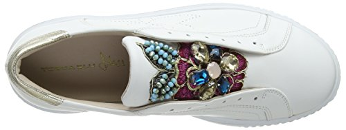 Blu Tosca Flamenco bianco C00 Femme Basses Sneakers Blanc BxS7Zw4q