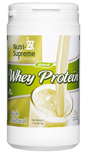Nutri Supreme Research Whey Protein Natural Flavor 1.2 ()