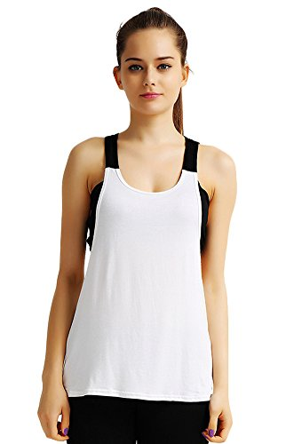 HonourSport Women's Workout Yoga Fitness Soft Tank Top