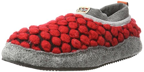 Red Napapijri Chaussons Footwear Rouge Misan Sparkling N493 Femme 64vY47wq