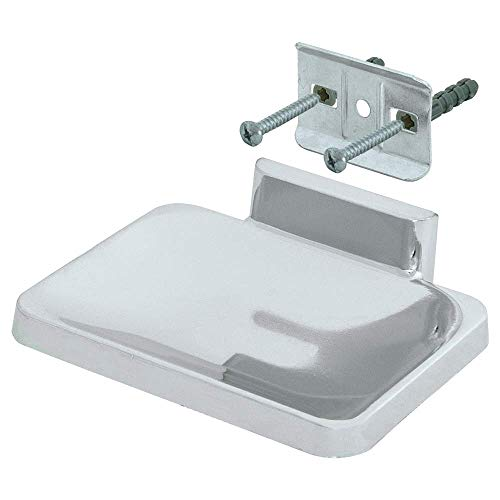 EZ-FLO 15202 Soap Dish with Concealed Screw, Chrome