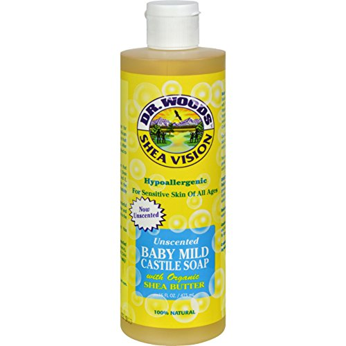 Vision Wood (Dr. Woods Shea Vision Pure Castile Soap Baby Mild with Organic Shea Butter - 16 fl)