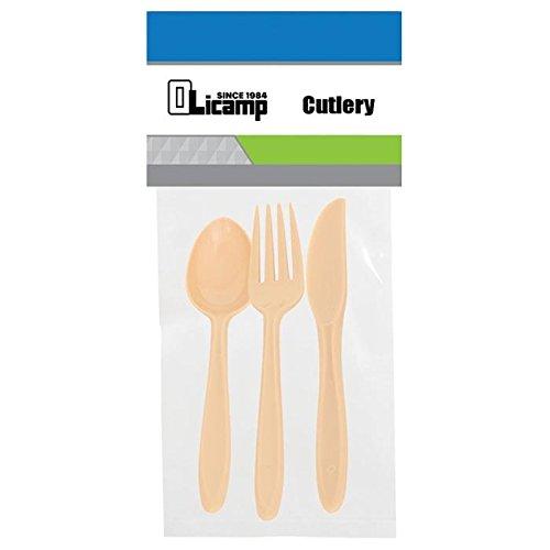 Olicamp Cutlery (3 Piece), Tan by Olicamp (Image #1)