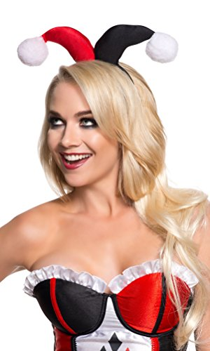 Rubie's Costume Co Women's DC Superheroes Headband, Harley Quinn