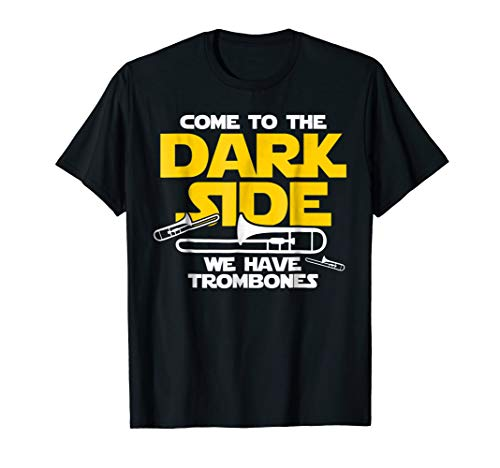 Funny Trombone Shirt - Come to the Dark Side T-Shirt