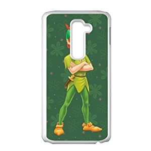 LG G2 Cell Phone Case Covers White Peter Pan GGW
