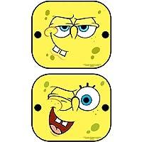 Spongebob SBSAA010 Sponge Bob Sonnenschutz, 36x45 cm, paar