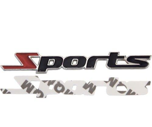 3d metallo cromato Sports Tuning Sport di emblema logo scritta Nuovo Phil Trade