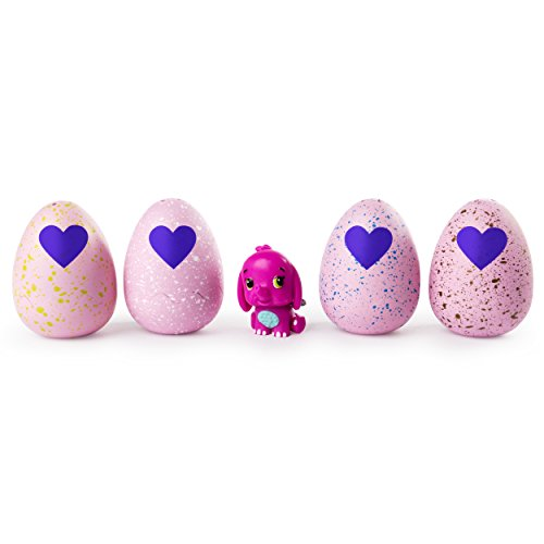 Hatchimals CollEGGtibles Season 2 - 4-Pack + Bonus (Styles & Colors May Vary) ()