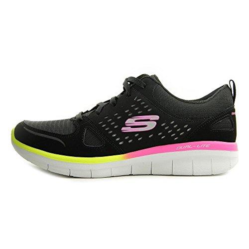 Bbk Multi 12378 Mujer Negro Sneaker Skechers O6Pn5SqO
