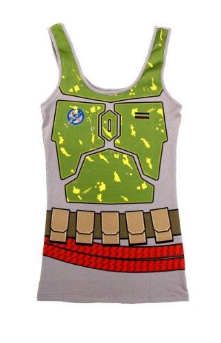 Star  (Boba Fett Costume T-shirt)