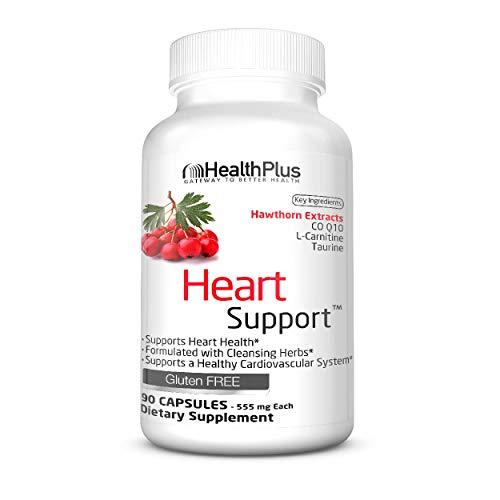 Health Plus 90 Capsules - Health Plus Heart Cleanse Capsules, 90 Count