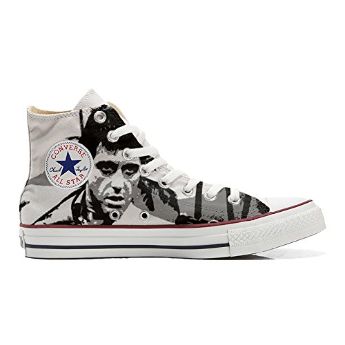 Star Unisex Sneaker Hi all Personalizzate al mys Artigianale Canvas Prodotto Pacino Converse tp4Fww