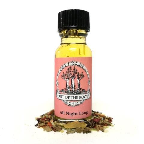 All Night Long Oil 1/2 oz Hoodoo Voodoo Wiccan Pagan Conjure