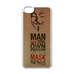 iPhone 5c Cell Phone Case White Anonymous Quote TR2403460
