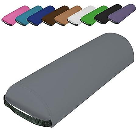 Norme CE Vivezen ® Traversin 10 coloris Rose EGK Distribution coussin demi-rond 66 cm x 22 cm x 12 cm pour table de massage