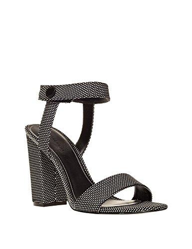 Argegno Heeled Sandals Rowan Women's Kylie Kendall Noir tqwzHZz0