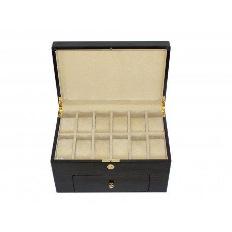 Caja guarda 20 relojes. Madera Lacada Modelo TG809-20EC: Amazon.es: Hogar