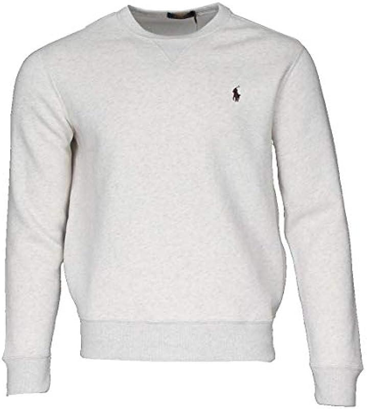 Ralph Lauren męski sweter z okrągłym dekoltem: Odzież