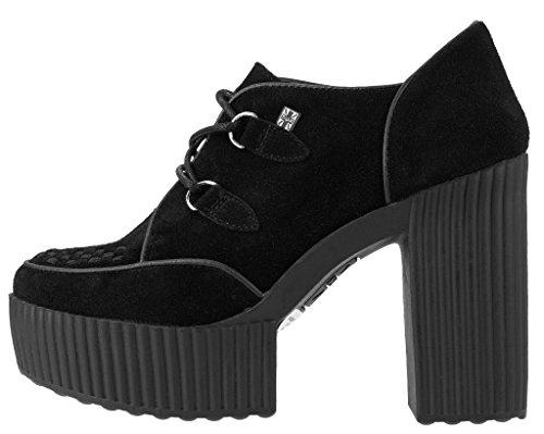 k Femme Yuni Suede Black Chaussures Creeper u T 4qO5wOA