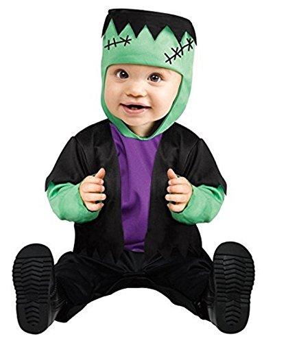 Fun World Kid's Lrg/Baby Frankie's Bride Inft Baby Costume, Multi, ()
