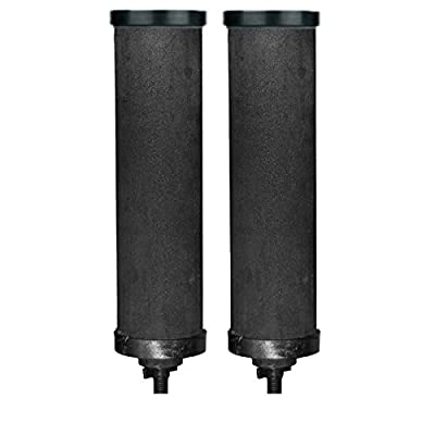 Black 10 Inch Candle Filter Replacement for Berkey, Doulton. (1)