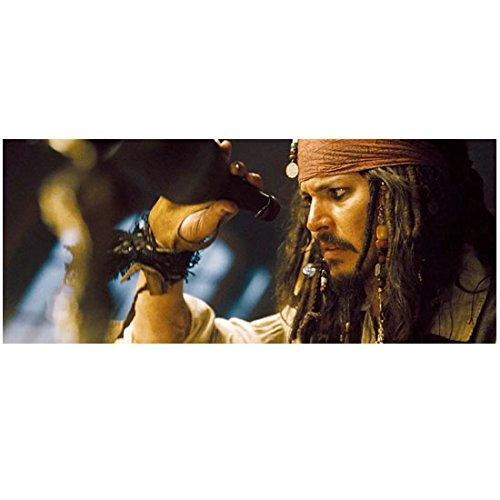Pirates of the Caribbean Johnny Depp as Captain Jack Sparrow No Rum 8 x 10 Inch (Pirates Of The Caribbean Captain Davy Jones)