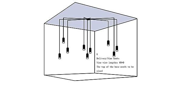 Lámparas colgantes de resina de forma Lámpara de restaurante LED ...