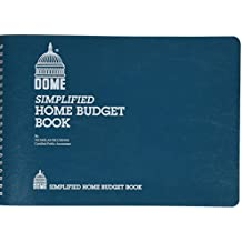 Dome 7.5-Inch Simplified Home Budget Book, Blue (840)