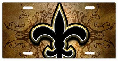 New Orleans Saints Team Mouse - New Orleans Saints The Run V06 Vanity License Plate Novelties 12 Mouse Bulk Saint Plain 6 And Supplies Furniture X Crafts Liscence Front Cars Liscense Metal Yang For Dong Arts Plates State Cover