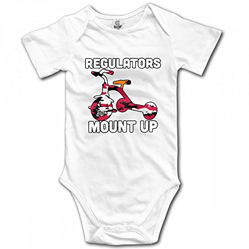 Regulators Mount up Newborn Novelty One-Piece Bodysuit 100% Cotton Romper Outfits