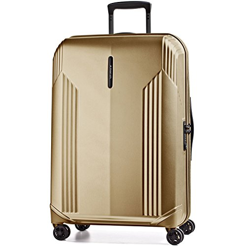 March 15 Koffer XL Hartschale Trolley Bowatex Manhattan Gold