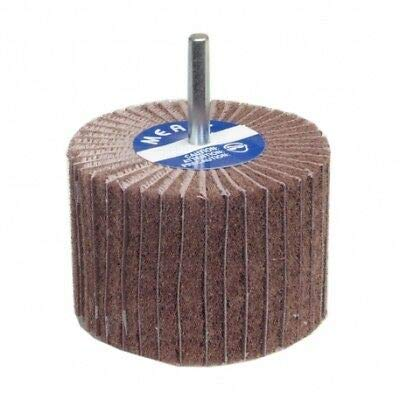 10 -PK Norton Merit Interleaf Flap Wheel 2 Inch X 1 Inch 1/4 Inch 60 Coarse // 08834138122