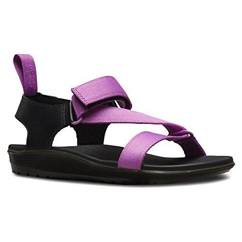 Dr. Martens BALFOUR Webbing BLACK - Sandalias de vestir de lona para mujer Psych Purple, Black
