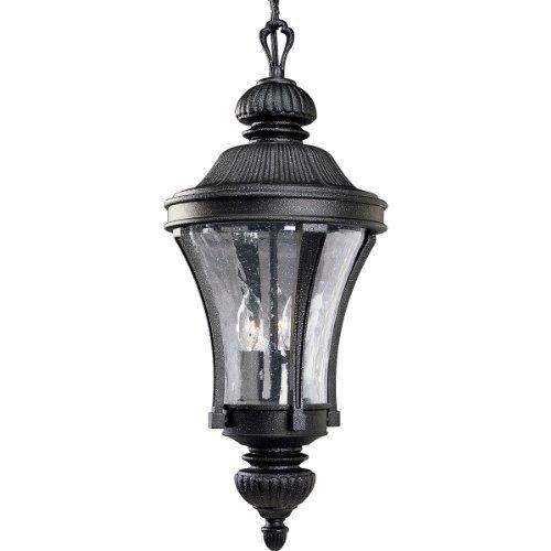 Progress Lighting P5538-71 3-Light Nottington Hanging Lantern, Gilded Iron by Progress Lighting