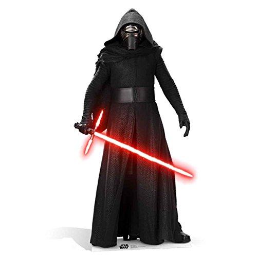 Star Cutouts Official Star Wars Kylo Ren (SW:TFA) Lifesize Cardboard Cut Out]()