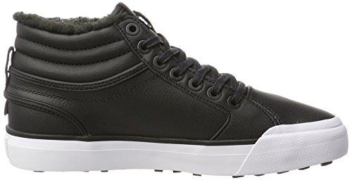 Low Evan Hi DC Wnt Black Black Black Sneakers White Top WoMen FIqffUxnR