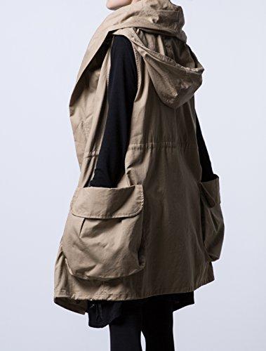 MatchLife - Abrigo - para mujer caqui