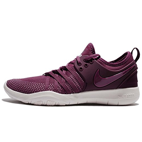 Nike Womens Wmns Free Tr 7, Tea Berry / Rosso Bordeaux-silt, 6.5 Us