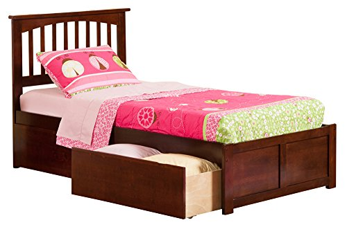Youth Twin Panel Bed - 7