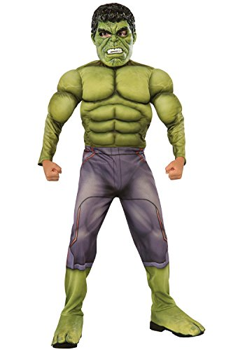 Rubie's Costume Avengers 2 Age of Ultron Child's Deluxe Hulk Costume, Large ()
