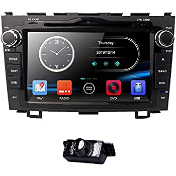 8 Inch for Honda CRV CR-V 2007 2008 2009 2010 2011 in Dash HD Touch Screen Car DVD Player GPS Navigation Stereo Bluetooth/SD/USB/RDS/FM/AM ...