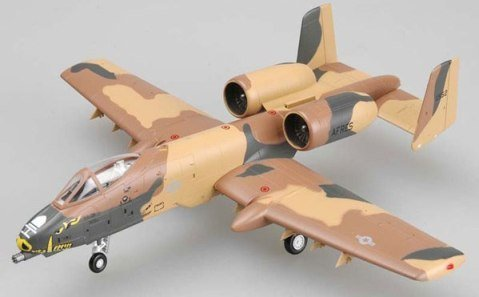 Easy Model 1:72 - A-10 Thunderbolt (warthog) - 917th Wing B