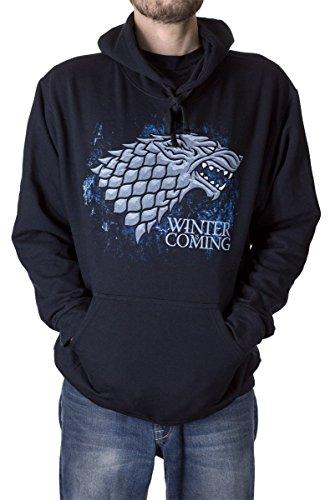 Game of Thrones House Sigil Hoodie (X-Large, - Of Thrones Game Hoodie