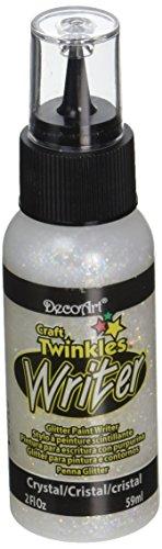DecoArt Twinkles Writers 2 Ounce Crystal