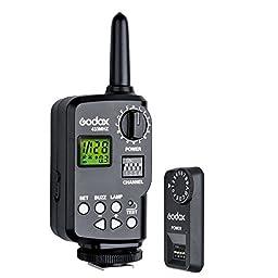 Godox FT-16S 16 Channels Wireless Power Control Flash Trigger Set for V860c V860n V850 Speedlite Camera (US W/H)